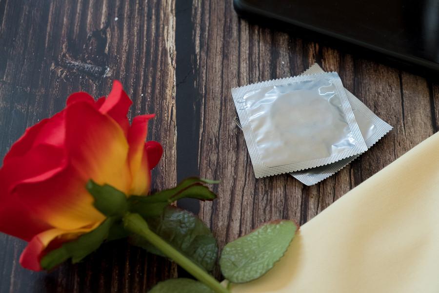 Kondome mit Prosecco Geschmack