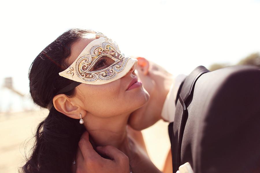 erotischen Masken